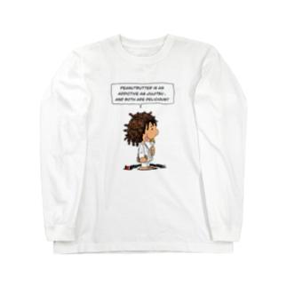 ピーナッツバターボーイ Long sleeve T-shirts