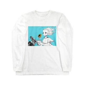 コスモひまわりくん…? Long sleeve T-shirts