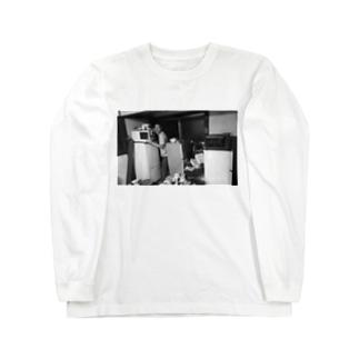 冷蔵庫廃品回収記念品 Long sleeve T-shirts