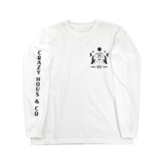 CRAZY HOUS & CO X AUGUST9 STUDIO Long sleeve T-shirts