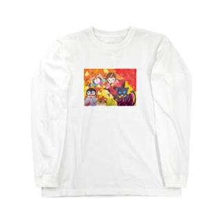 秋の到来 Long sleeve T-shirts