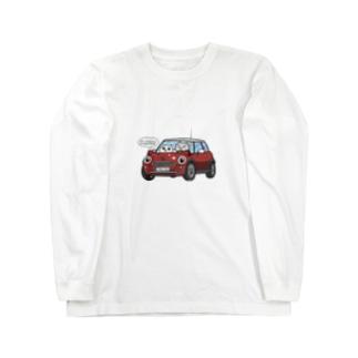 ミミクーパでドライヴ Long sleeve T-shirts