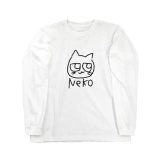 ネコの絵のやつ Long sleeve T-shirts