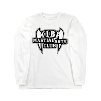 KIBAマーシャルアーツクラブ公式ロゴ Long sleeve T-shirts