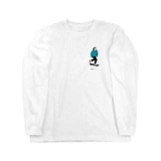 skate boy Long sleeve T-shirts