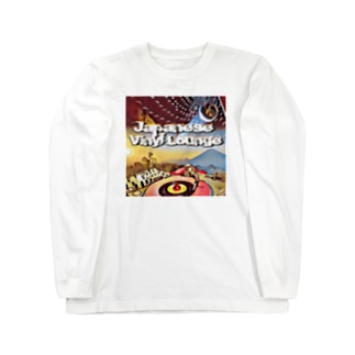 Japanese Vinyl Lounge 03 Long sleeve T-shirts