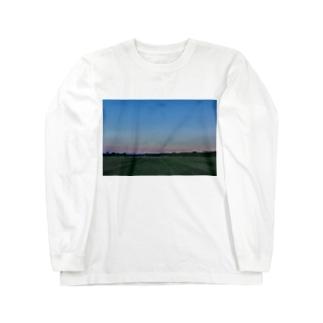 黄昏を慈しむ Long sleeve T-shirts