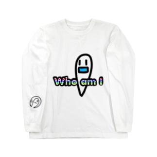 たましいくん僕は誰?? Long sleeve T-shirts