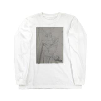 決意 Long sleeve T-shirts
