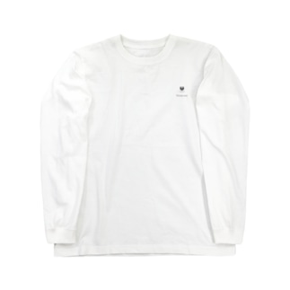 Univer FACE ロンT white Long sleeve T-shirts