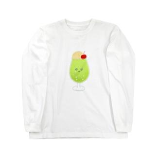 メロンソーダちゃん Long sleeve T-shirts