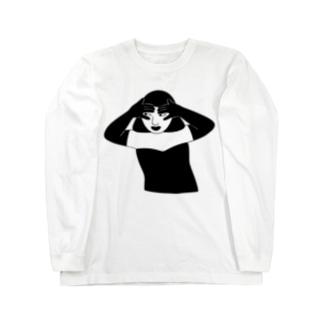 黒イ誘惑 Long sleeve T-shirts