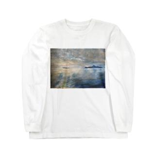 箕沖から仙酔島-200928 Long sleeve T-shirts