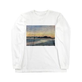 箕沖から仙酔島'-200928 Long sleeve T-shirts
