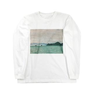箕沖から仙酔島''-200928 Long sleeve T-shirts