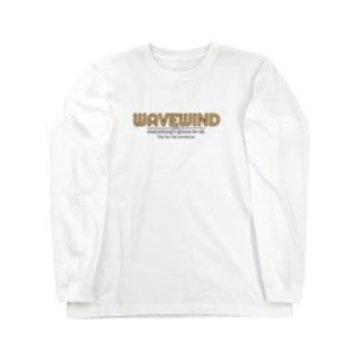 WAVEWINDっす Long sleeve T-shirts
