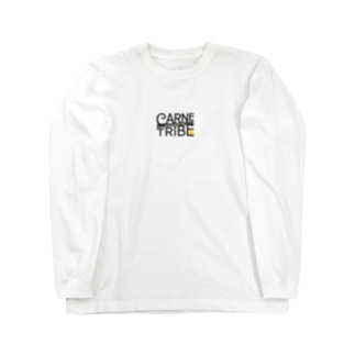 CarneTribe カラーロゴ ロングTシャツ Long sleeve T-shirts