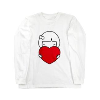みーちゃんハート Long sleeve T-shirts