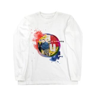 Afro Urbanity Bird Long sleeve T-shirts