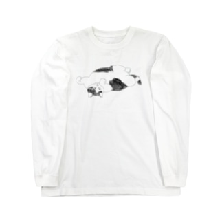 誘惑する猫 Long sleeve T-shirts