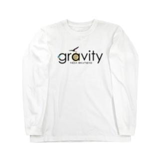 GravityBlacklogo ver2 Long sleeve T-shirts