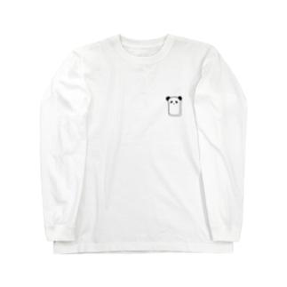 食パンダ Long sleeve T-shirts