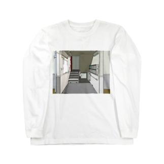 入り口 Long sleeve T-shirts
