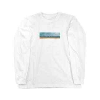 鳥取.海.UNv Long sleeve T-shirts