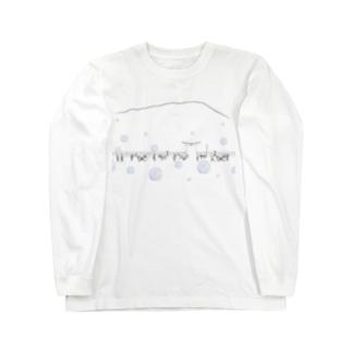 チャグチャグ馬コ行列 シャツ 青 Long sleeve T-shirts
