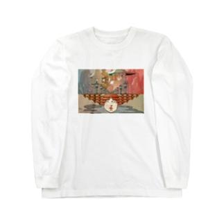 崩れない幻想 Long sleeve T-shirts