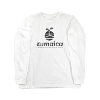 Black kamo Long sleeve T-shirts