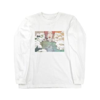 秘めた揺れる心 Long sleeve T-shirts