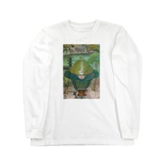 時が混ざる地点への参詣 Long sleeve T-shirts