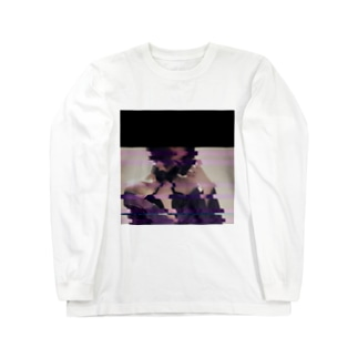 グリッドガール Long sleeve T-shirts
