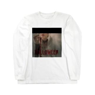 ハロウィンガール Long sleeve T-shirts