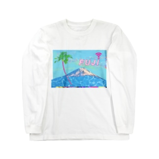 富士のき P A L M M A L L Long sleeve T-shirts