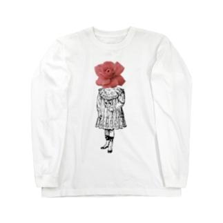 キネオラマの人は死んだら電柱になる Long sleeve T-shirts