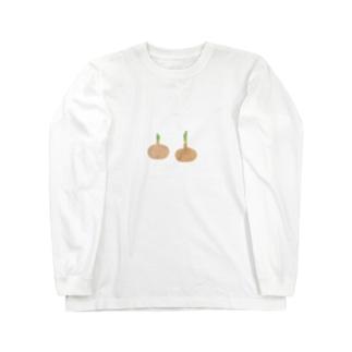 たまねぎ Long sleeve T-shirts