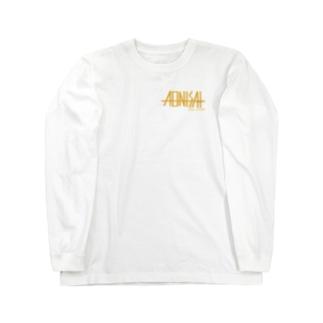 New ロゴ(白推奨) Long sleeve T-shirts