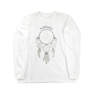 Dreamcatcher(淡色ボディ用) Long sleeve T-shirts