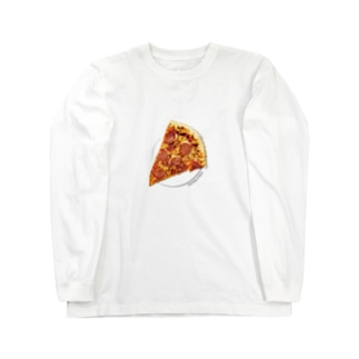 ペパロニピザ Long sleeve T-shirts