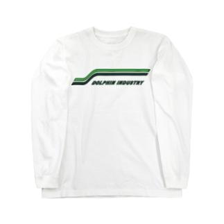 モーターサイクルLINE Tシャツ Long sleeve T-shirts