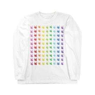 並んだありんこ、と🐜 Long sleeve T-shirts