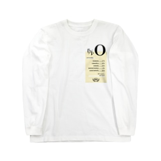O型★ Long sleeve T-shirts