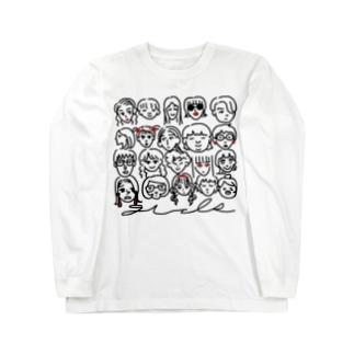 最強ガールズ Long sleeve T-shirts