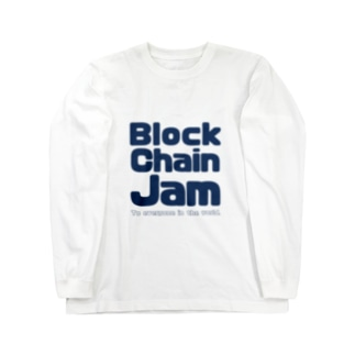 BlockChainJam Tシャツ Long sleeve T-shirts