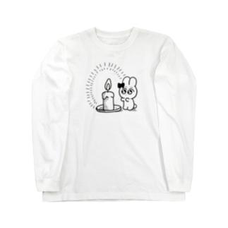 ろうそくあたたけえど Long sleeve T-shirts