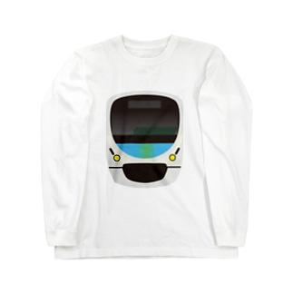 西武鉄道 スマイルトレイン Long sleeve T-shirts