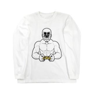車検屋さんちの肝川くん【営業長袖Tシャツ】 Long sleeve T-shirts