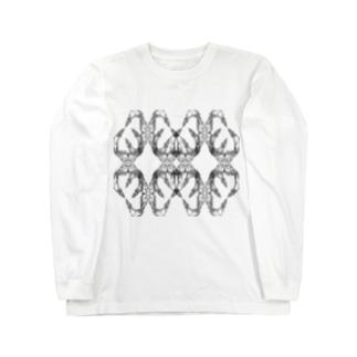 分裂と複製 Long sleeve T-shirts